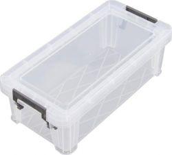ALLSTORE 1,3 l átlátszó műanyag tárolódoboz