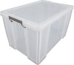 ALLSTORE 85 l átlátszó műanyag tárolódoboz