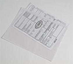 C/4 229x324 mm öntapadós okmánykísérő tasak (500 db/csomag)