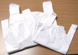 32x8x55 cm fehér ingvállas tasak