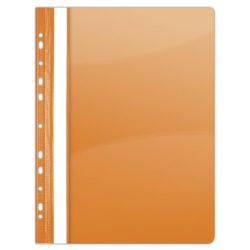DONAU A4 lefűzhető PVC narancssárga gyorsfűző