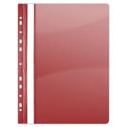 DONAU A4 lefűzhető PVC piros gyorsfűző