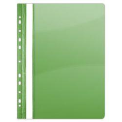 DONAU A4 lefűzhető PVC zöld gyorsfűző