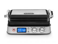 Delonghi CGH 1012D MultiGrill 220-240 V / 50-60 Hz, 2000 W ezüst-fekete elektromos grillsütő
