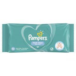 Pampers Fresh Clean 52 darabos nedves törlőkendő