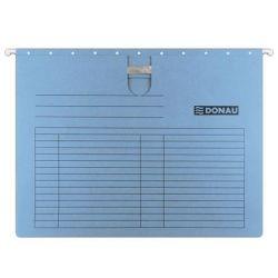 DONAU A4 gyorsfűzős karton kék függőmappa