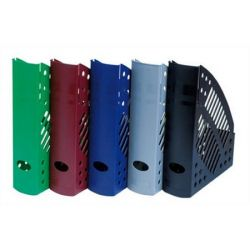 DONAU,  Iratpapucs, műanyag, 70 mm, kék
