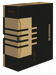 DONAU A4 120 mm karton natúr archiváló doboz
