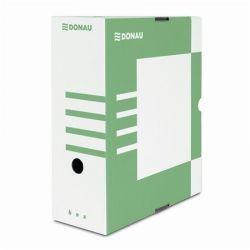 DONAU A4 120 mm karton zöld archiváló doboz
