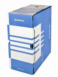 DONAU A4 155 mm karton kék archiváló doboz