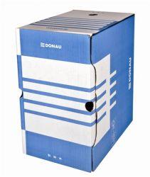 DONAU A4 200 mm karton kék archiváló doboz