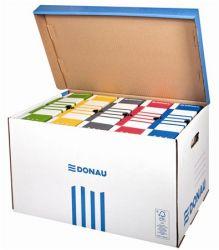 DONAU felfelé nyíló kék archiváló konténer