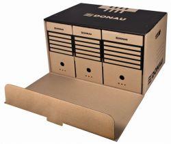 DONAU előre nyíló barna archiváló konténer
