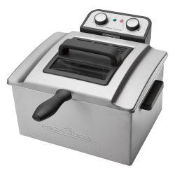 Clatronic ProfiCook PC-FR 1038 3000W 5l ezüst olajsütő