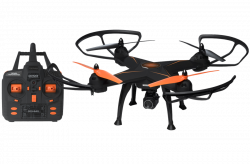 Denver DCH-640, 2MP max 60m hatótáv fekete/narancs drón