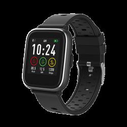 "Denver SW-161 BLACK 1.3"" Bluetooth beépített pulzusmérővel fekete okosóra"