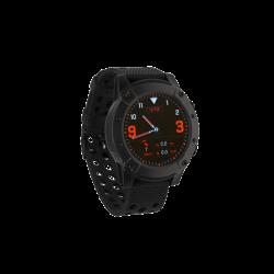 """Denver SW-650 1.3"""" Bluetooth beépített pulzusmérő GPS fekete okosóra"""