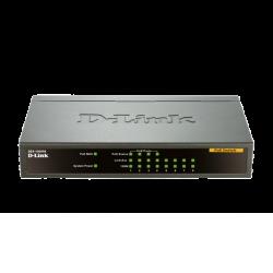 D-Link DES-1008PA 8-Port Fast Ethernet PoE Unmanaged Desktop Switch