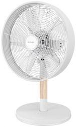 Activejet Selected WBS-30BD 35W fém/gumifa fehér asztali ventilátor