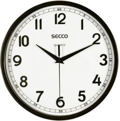 SECCO fekete 24,5 cm-es falióra