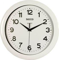 SECCO 30 cm fehér falióra