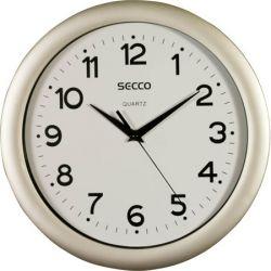 """SECCO Sweep Second"""" 30 cm falióra ezüst színű kerettel"""""""