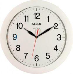 SECCO 28 cm fehér keretes falióra