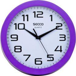 """SECCO """"Sweep second"""" 24,5 cm-es lila keretes falióra"""