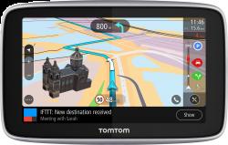 """TomTom Go Premium 1PL5.002.30 5"""" SIM, élettartam világtérkép/sebességmérő Wifi, Bluetooth fekete GPS navigáció"""