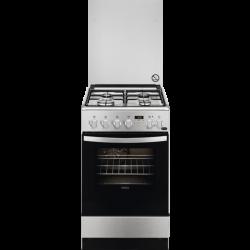 Zanussi ZCK553G1XA 3000W 54L inox kombinált tűzhely