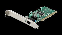 D-Link Hálózati Kártya - DGE-528T - PCI Réz Gigabit 2000Mbps 32BIT Low Profile a dobozban