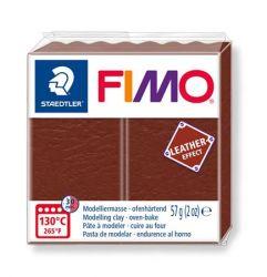 """FIMO"""" Leather Effect"""" égethető dió színű gyurma (57 g)"""
