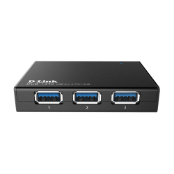 D-Link DUB-1340 4-Portos USB 3.0 USB hub