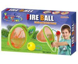 G21 10014 háló a labda elkapásához és kilövéséhez zöld játékszett