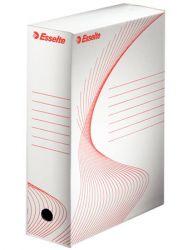 """ESSELTE """"Standard"""" A4 100 mm karton fehér archiváló doboz"""