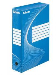 """ESSELTE """"Standard"""" A4 80 mm karton kék archiváló doboz"""