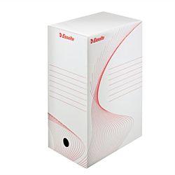 """ESSELTE """"Standard"""" A4 150 mm karton fehér archiváló doboz"""