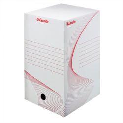 """ESSELTE """"Standard"""" A4 200 mm karton fehér archiváló doboz"""