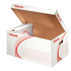 """ESSELTE """"Standard"""" felfelé nyíló karton fehér archiváló konténer"""