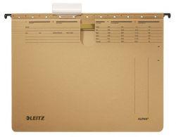 """LEITZ """"Alpha"""" A4 gyorsfűzős karton natúr függőmappa"""