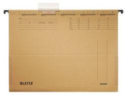 """LEITZ """"Alpha"""" A4 karton natúr függőmappa oldalvédelemmel"""