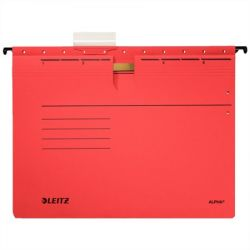 """LEITZ """"Alpha"""" A4 gyorsfűzős karton piros függőmappa"""