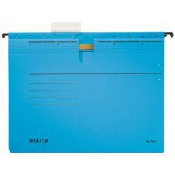 """LEITZ """"Alpha"""" A4 gyorsfűzős karton kék függőmappa"""