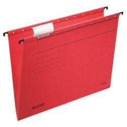 "LEITZ ""Alpha Standard"" A4 karton piros függőmappa"