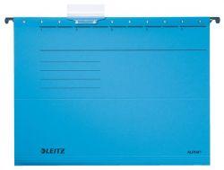 """LEITZ """"Alpha Standard"""" A4 karton kék függőmappa"""