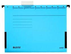 """LEITZ """"Alpha"""" A4 karton kék függőmappa oldalvédelemmel"""