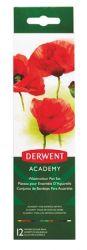 Derwent Academy 12 darabos vízfesték fém dobozban