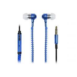 Vakoss SK-214K 3.5mm fekete-kék vezetékes mikrofonos fülhallgató
