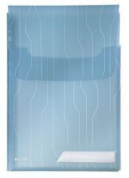 """LEITZ """"CombiFile Jumbo"""" A4 200 mikron lefűzhető kék genotherm füllel"""