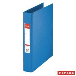 "ESSELTE ""Standard"" Vivida A5 42 mm 2 gyűrűs PP kék gyűrűskönyv"
